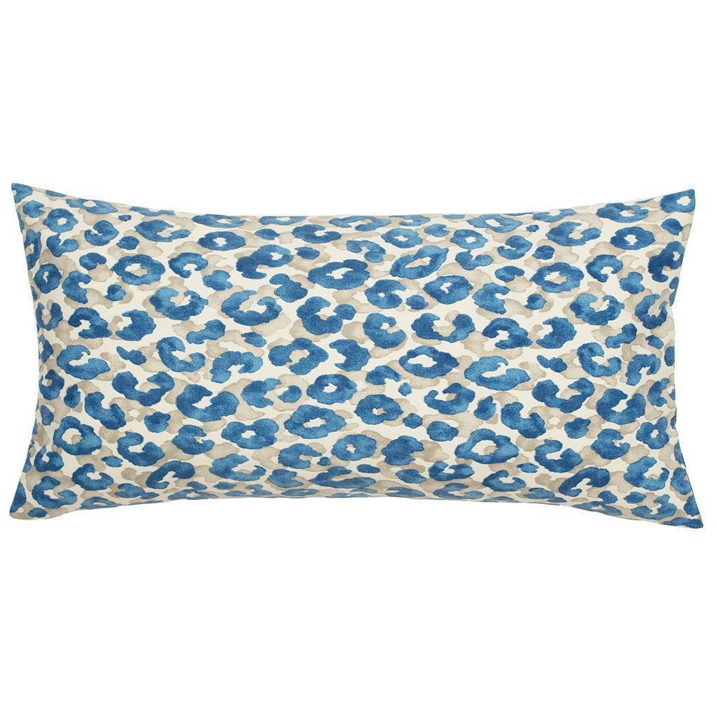 Inspirational the Sapphire Blue Leopard Throw Pillow Patterned Throw Of Amazing 40 Photos Patterned Throw