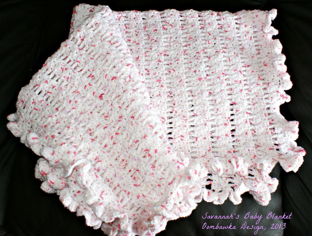 Inspirational Tickled Pink Baby Afghan Crochet Edging for Baby Blanket Of Awesome 47 Pictures Crochet Edging for Baby Blanket