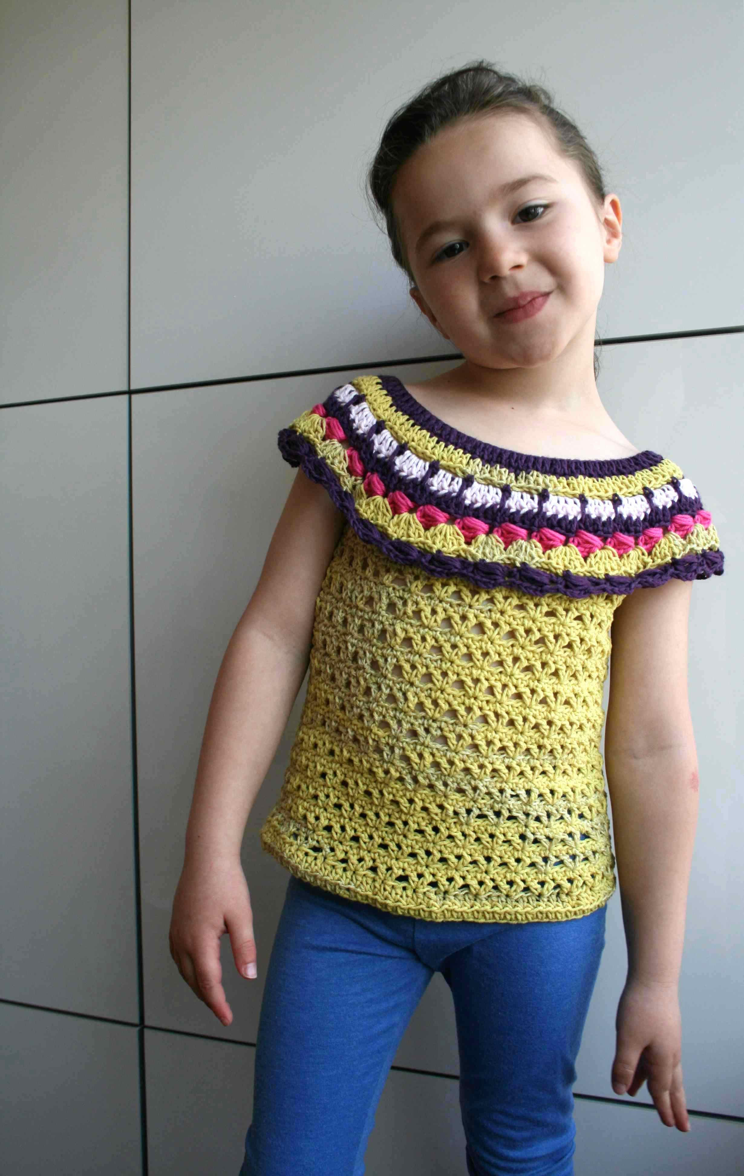 Today only $3 New spring summer crochet top pattern for