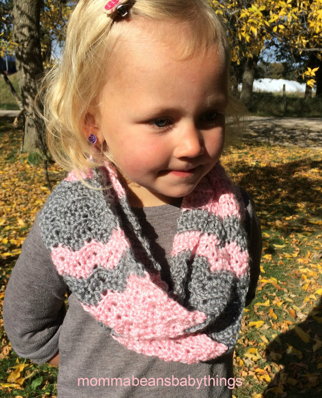 Inspirational toddler Girl Infinty Scarf – Momma Beans and Baby Things Crochet Kids Scarf Of New 9 Cool Crochet Scarf Patterns Crochet Kids Scarf