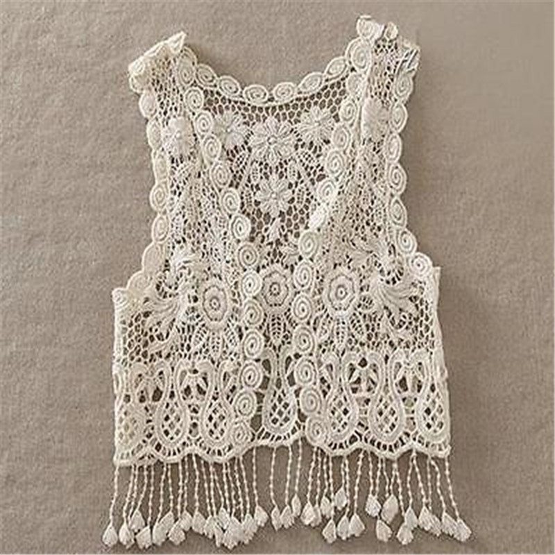 Inspirational toddler Kids Baby Girls Crochet Lace Hollow Cardigan tops Crochet Lace Vest Of Incredible 40 Images Crochet Lace Vest