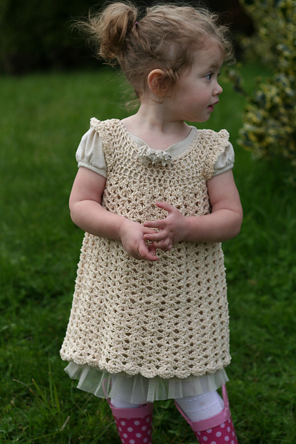 Inspirational top 5 Crochet Dresses You Can Make for Easter Crochet Little Girl Dress Of Awesome 44 Images Crochet Little Girl Dress