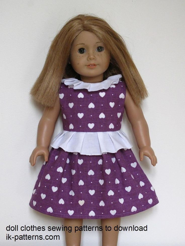 Inspirational top 95 Ideas About Doll Fashions On Pinterest American Girl Doll Dress Patterns Of Incredible 48 Models American Girl Doll Dress Patterns