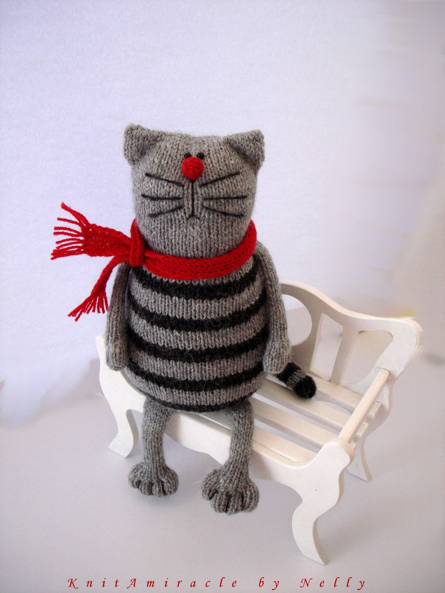 Inspirational toy Knitting Pattern Pablo the Serious Cat Knitted Cat toys Of Fresh 44 Pics Knitted Cat toys
