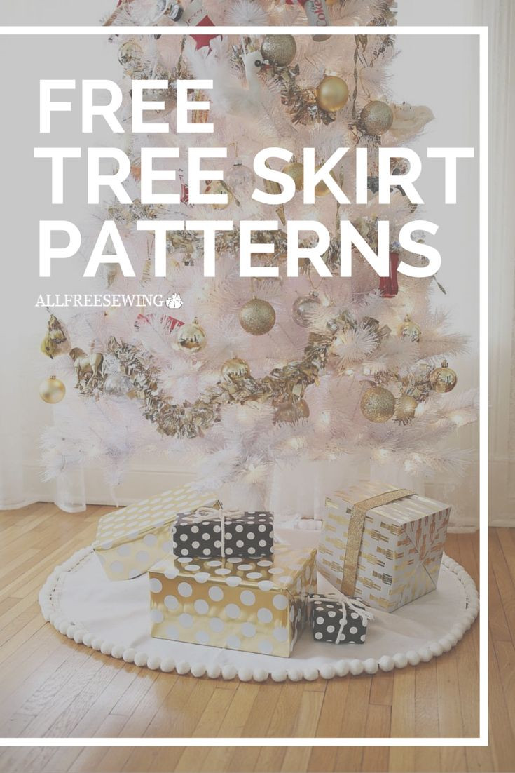 Inspirational Tree Skirt Patterns to Sew Plus some No Sew Ideas too Free Tree Skirt Patterns Of Brilliant 44 Pics Free Tree Skirt Patterns
