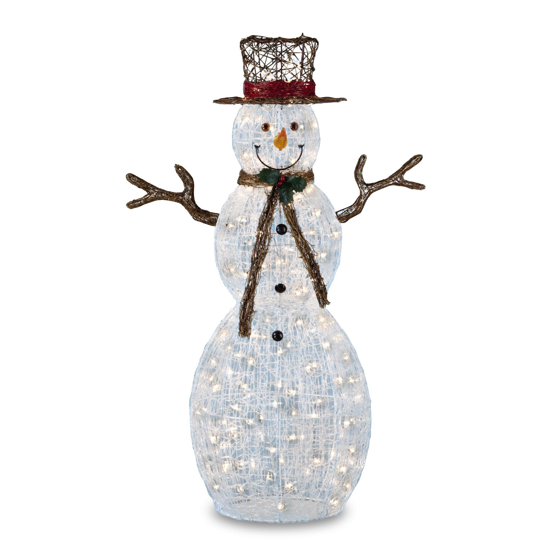 Inspirational Trimming Traditions 150 Clear Light Icy Snowman Christmas Christmas Snowman Decorations Of Adorable 41 Models Christmas Snowman Decorations