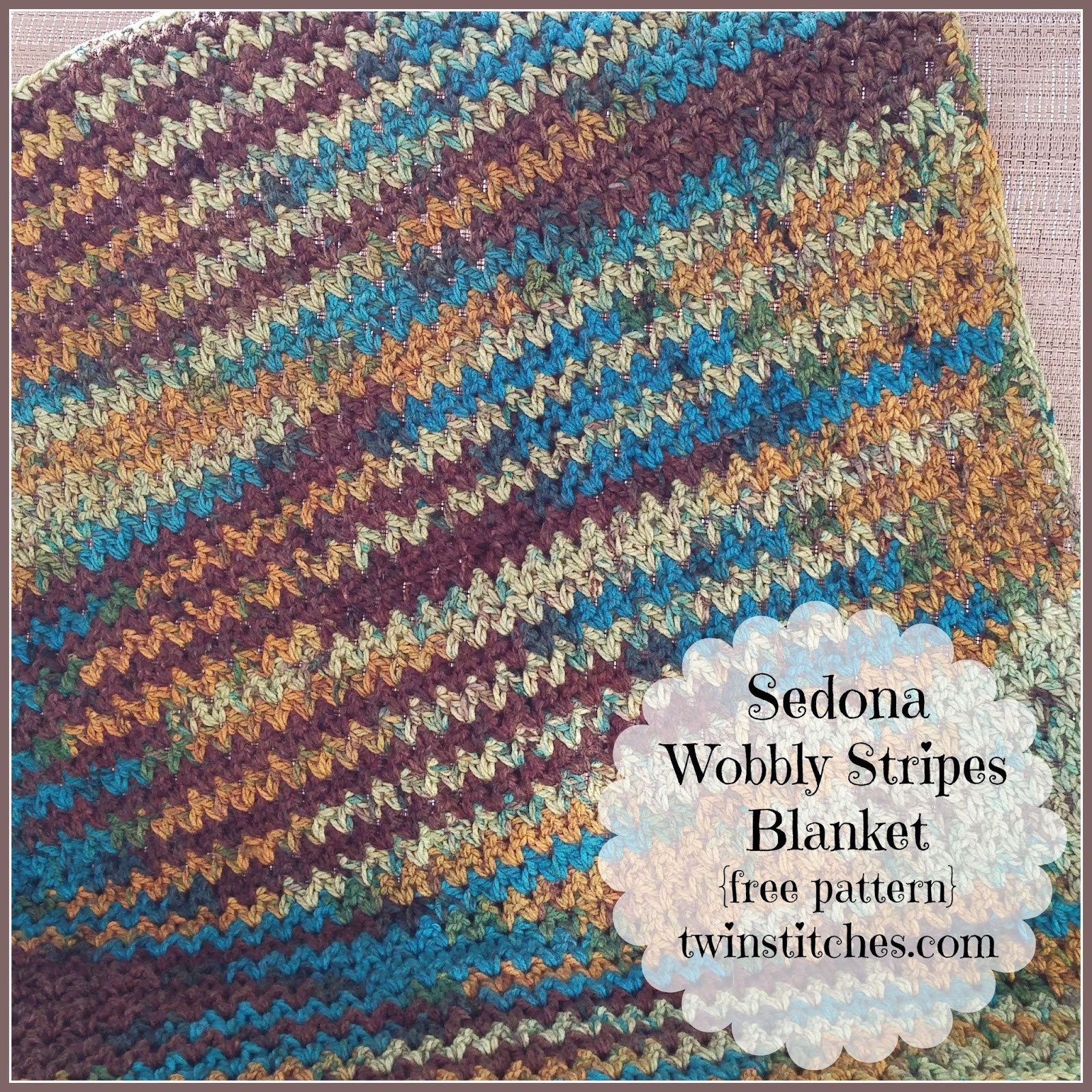 Inspirational Tw In Stitches Sedona Wobbly Stripes Blanket Free Best Yarn for Crochet Blanket Of Amazing 40 Images Best Yarn for Crochet Blanket