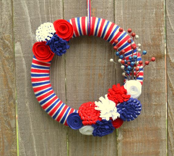 Inspirational Usa Wreath Red White and Blue Yarn Wreath Stars and Red White and Blue Yarn Of Awesome 48 Pictures Red White and Blue Yarn