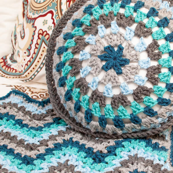 V Stitch Crochet Ripple Afghan Pattern