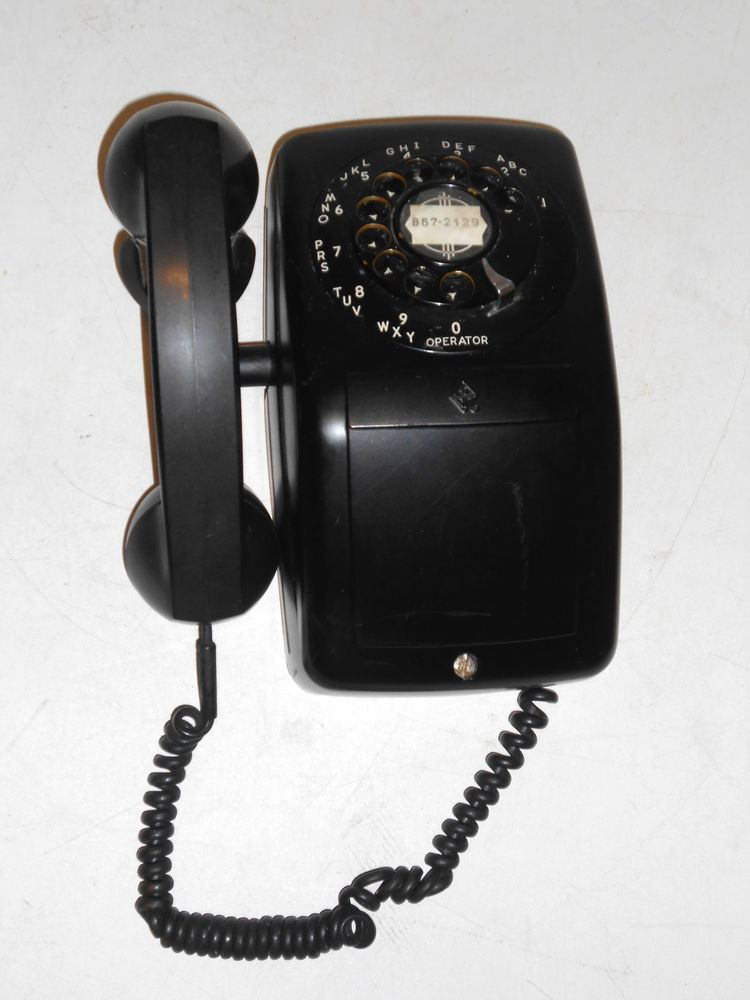 Inspirational Vintage 1940 S Automatic Electric Black Rotary Dial Wall Vintage Rotary Wall Phone Of Wonderful 46 Pictures Vintage Rotary Wall Phone