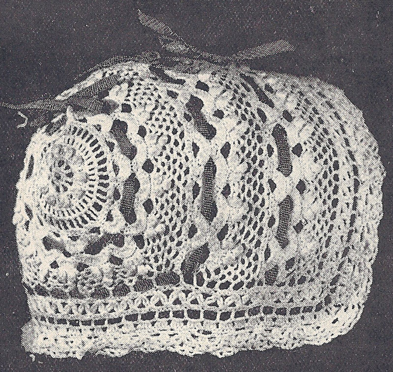 Inspirational Vintage Antique Crochet Pattern Baby Cap Hat Bonnet W4 Vintage Crochet Patterns Of Attractive 43 Pictures Vintage Crochet Patterns