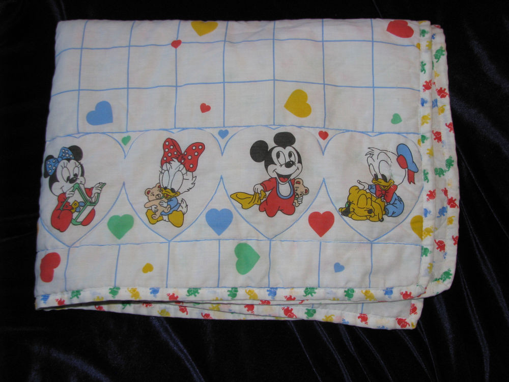 Inspirational Vintage Baby Blanket White Disney Babies Mickey Minnie Vintage Baby Blankets Of Adorable 44 Images Vintage Baby Blankets