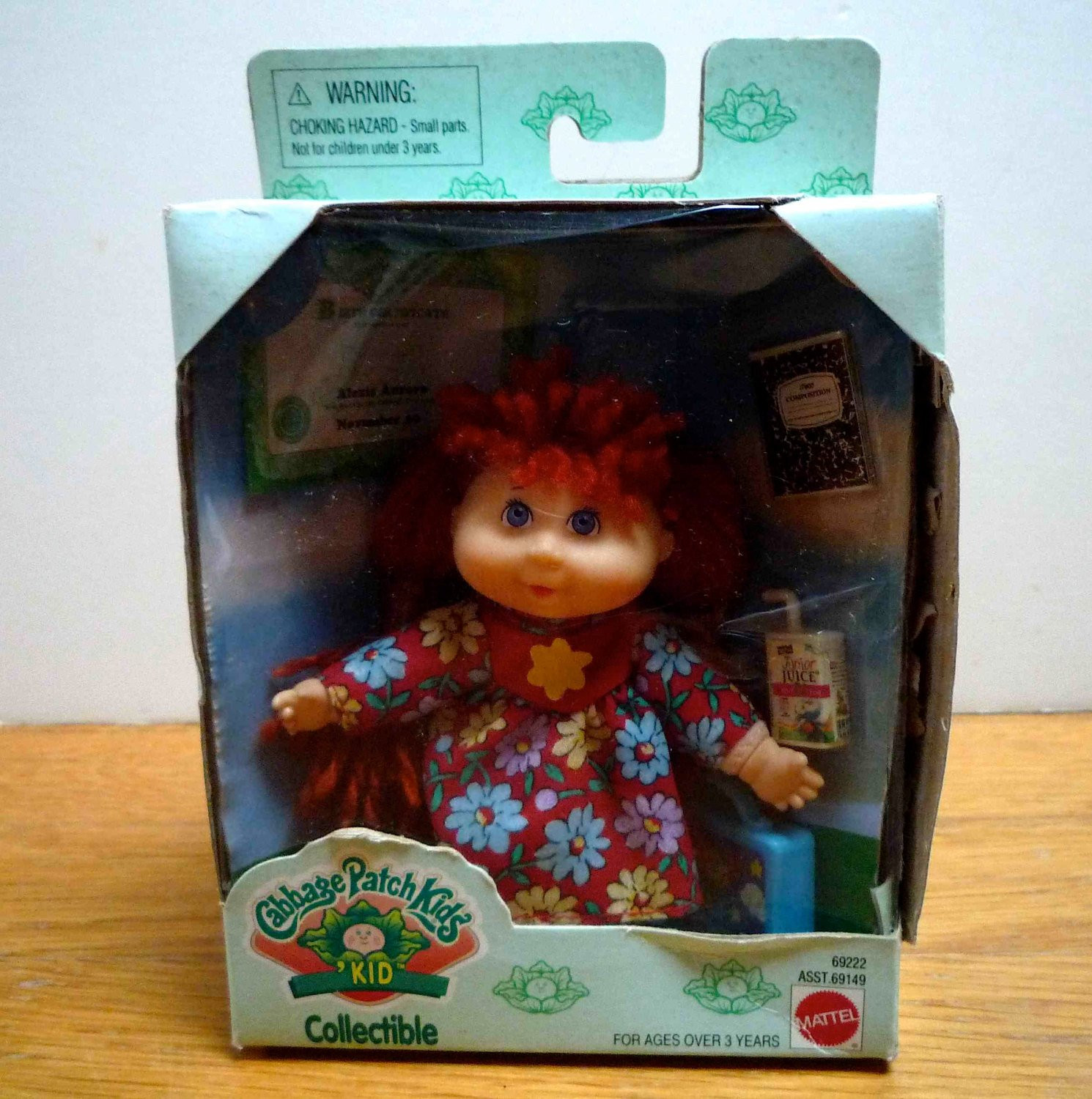 Vintage Cabbage Patch Collectible Doll New by