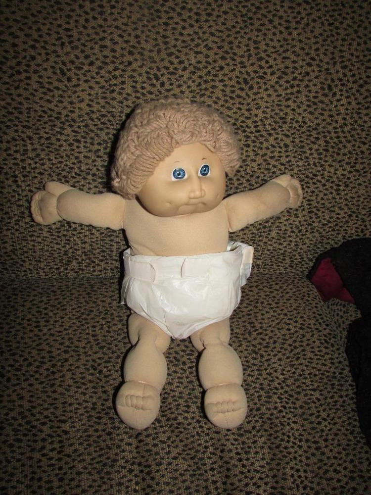 Inspirational Vintage Cabbage Patch Doll 1985 Curly Hair Baby Old Cabbage Patch Doll Of Wonderful 47 Ideas Old Cabbage Patch Doll