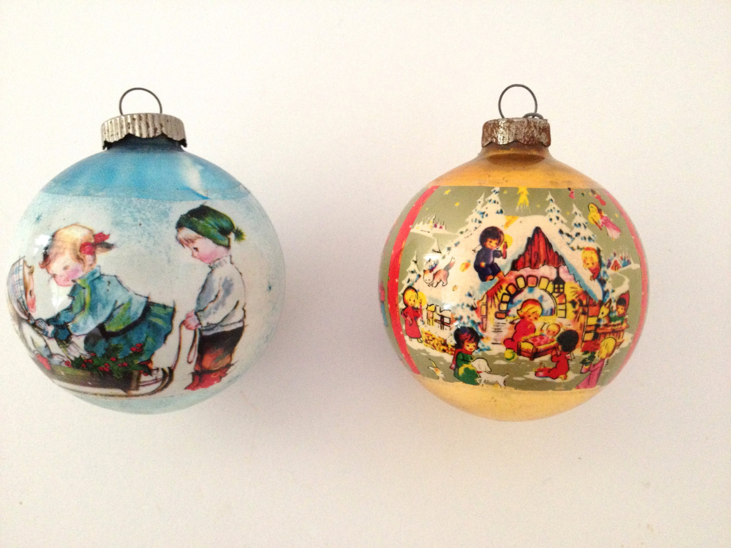 Inspirational Vintage Christmas ornaments Old Fashioned Holiday Scenes Old Fashioned Christmas ornaments Of Adorable 35 Pics Old Fashioned Christmas ornaments