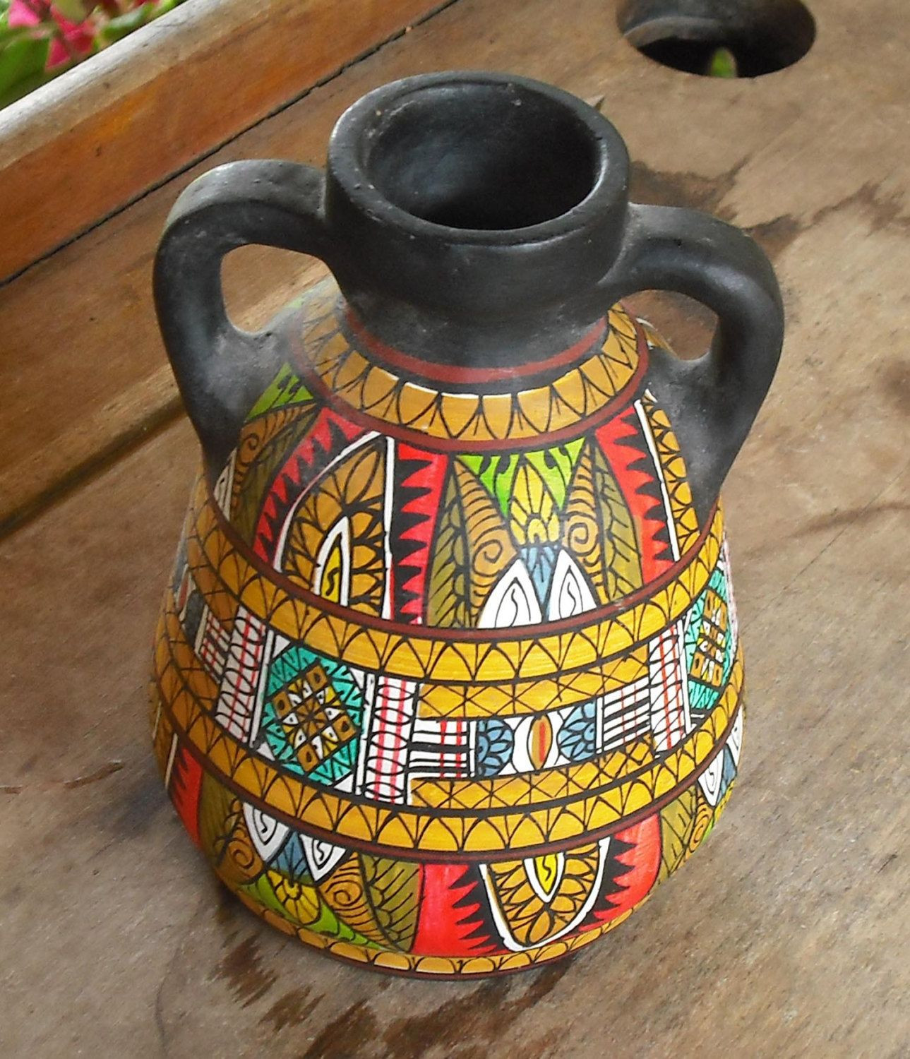 Inspirational Vintage Clay Pottery Vase with Handles Black Hand Painted Pottery Clay for Sale Of Unique 40 Ideas Pottery Clay for Sale