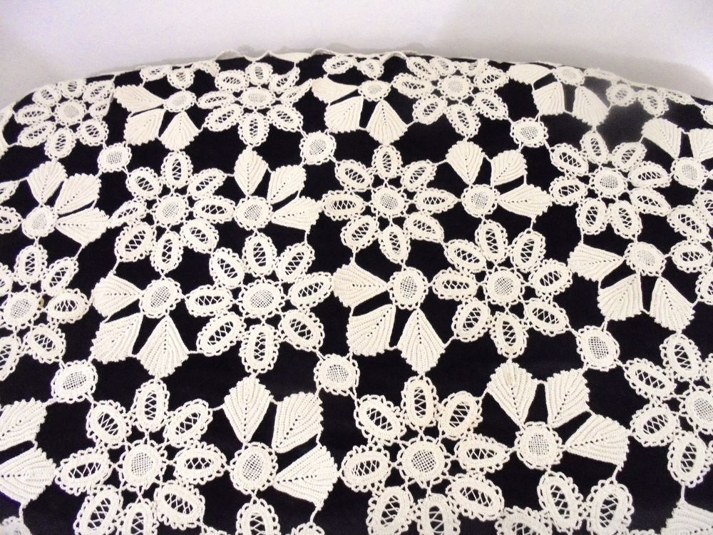 Inspirational Vintage Crocheted Scalloped Lace Ivory Square Small Crochet Lace Tablecloths Of Luxury 47 Images Crochet Lace Tablecloths