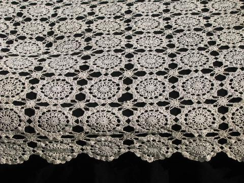 Inspirational Vintage Ecru Cotton Lace Tablecloth or Table Cover Runner Crochet Tablecloth for Sale Of Delightful 42 Ideas Crochet Tablecloth for Sale
