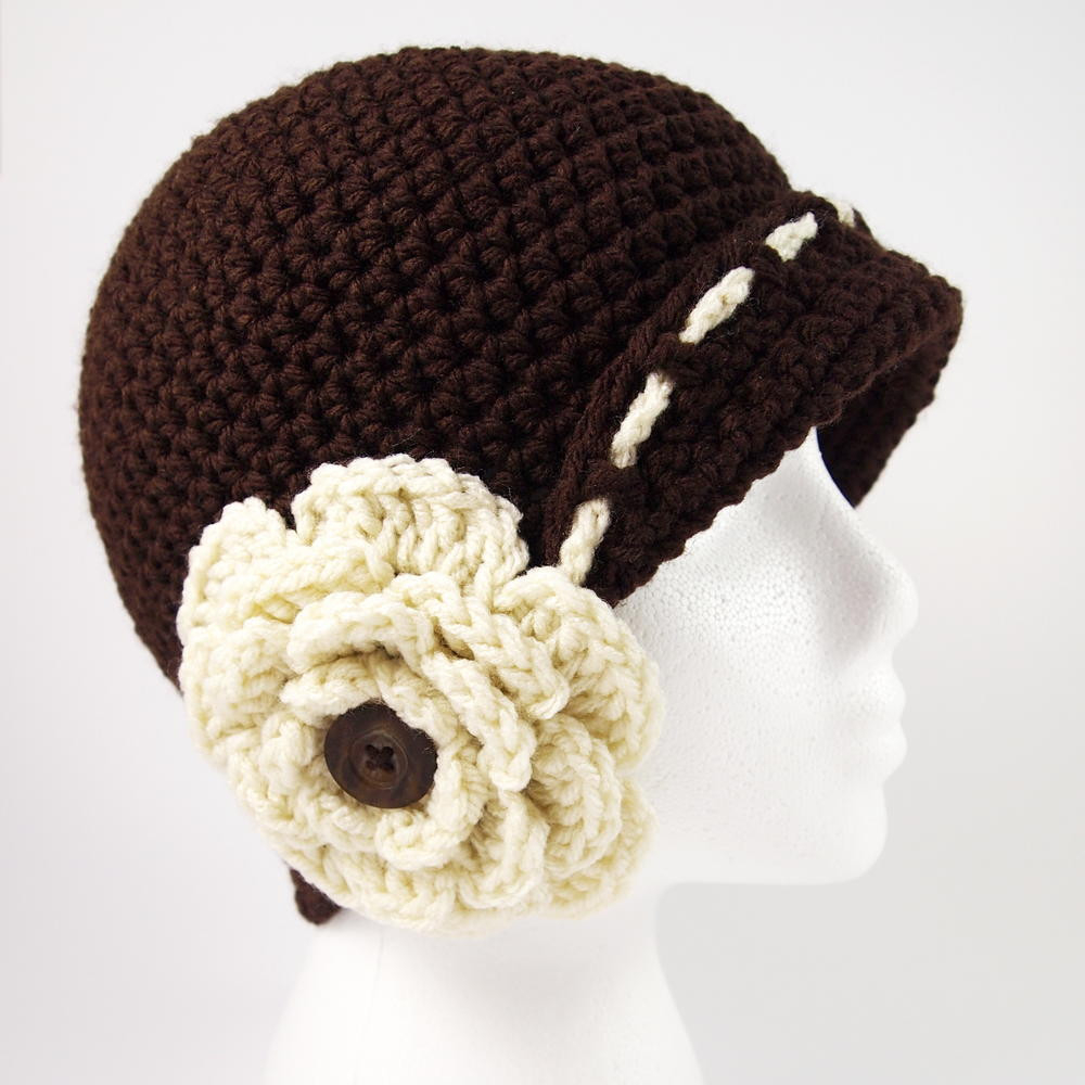Inspirational Vintage Flower Cloche Hat Crochet Pattern Crochet Flower for Hat Of Beautiful 45 Photos Crochet Flower for Hat