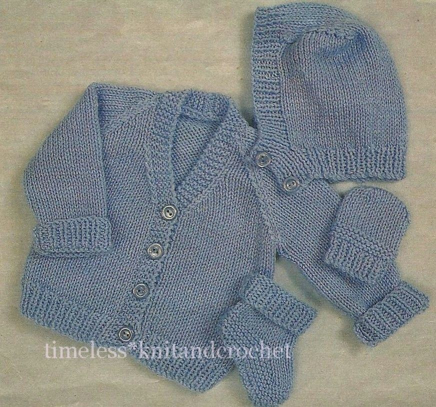 Inspirational Vintage Knitting Pattern Premature Baby Hat Mittens Cardigan Knitting Pattern Of Brilliant 44 Images Cardigan Knitting Pattern