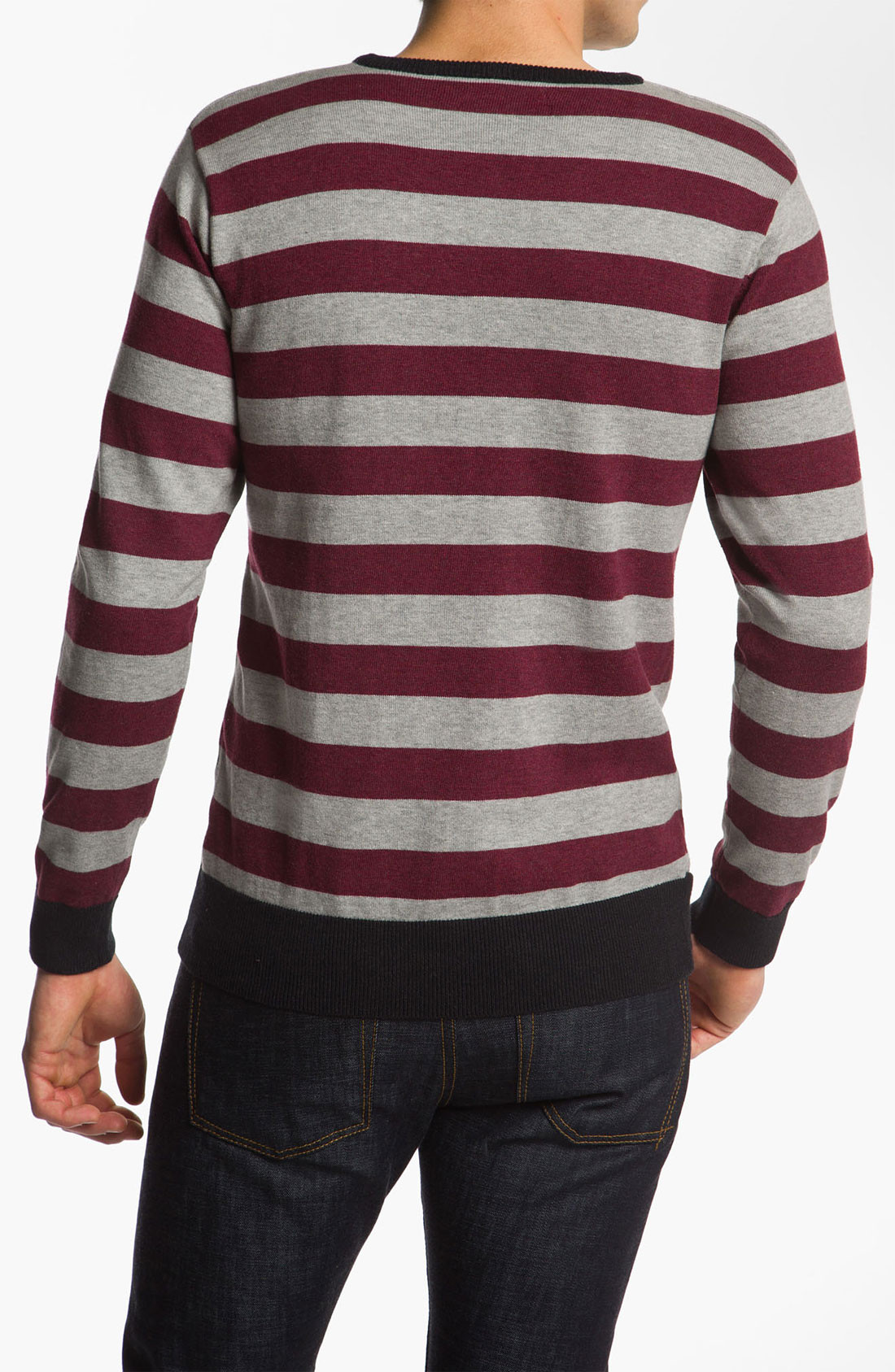 Vol Other Circle Crewneck Sweater for Men