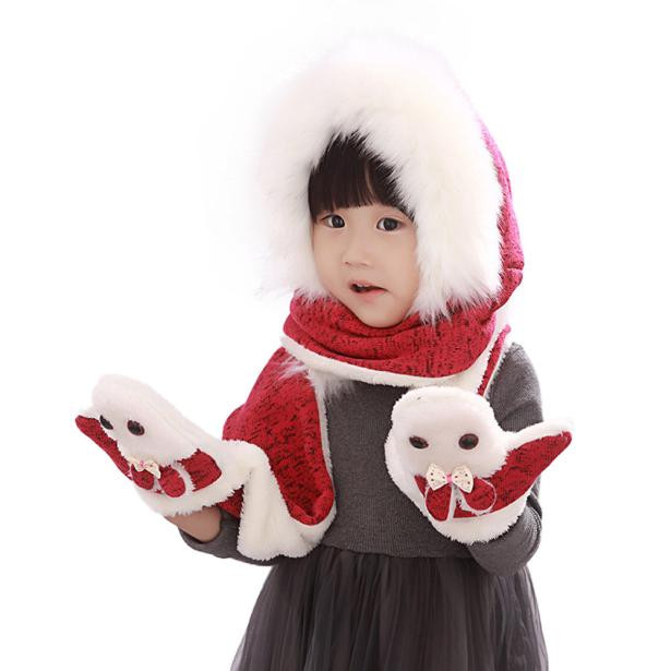 Inspirational Warm Autumn and Winter Hats Scarves Gloves Three Piece Kid Children's Scarves Of New 48 Pictures Children's Scarves