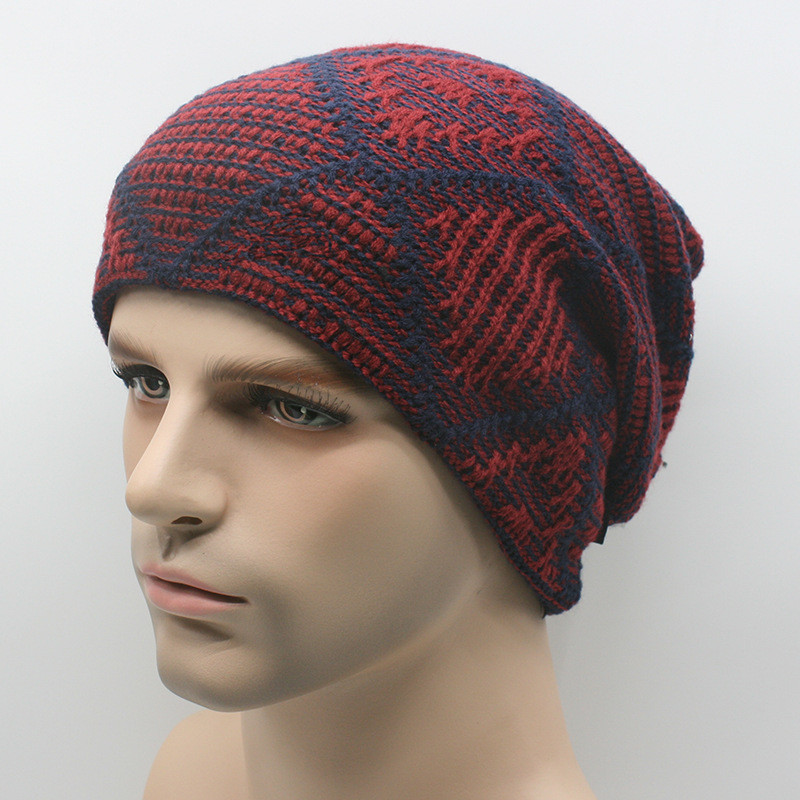 Inspirational Warm Thick Knit Wool Slouchy Beanies Cap Snowboarding Red Slouchy Beanie Of New 50 Models Red Slouchy Beanie