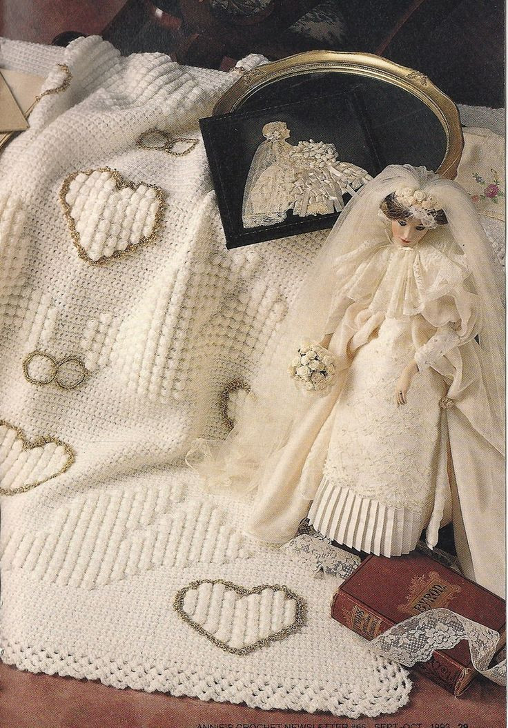 Inspirational Wedding Afghan Vintage Crochet Pattern Hearts Doves Wedding Afghan Crochet Pattern Of Wonderful 45 Pics Wedding Afghan Crochet Pattern