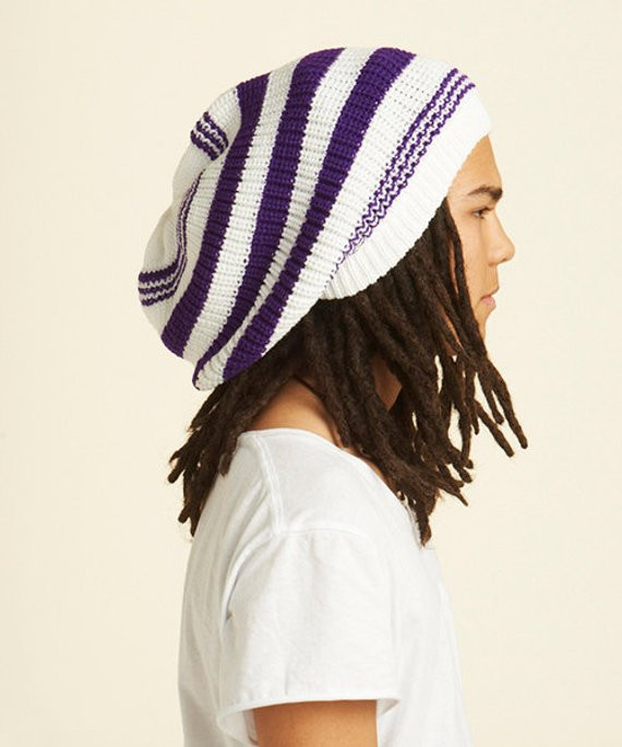 Inspirational White Rasta Tam Dreadlocks Hat with Purple by Dreadstuffs Rasta Hat with Dreads Of New 32 Photos Rasta Hat with Dreads