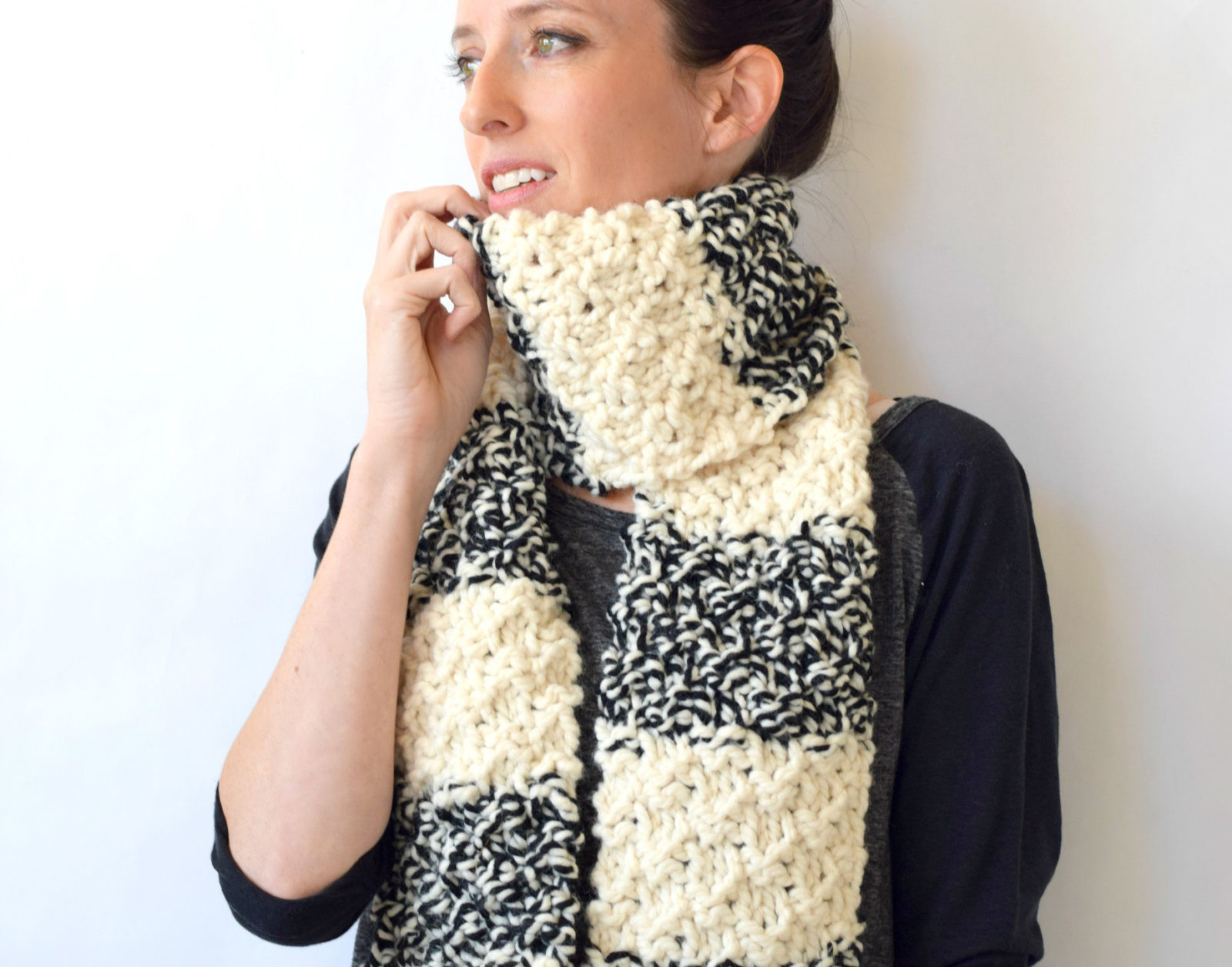 Inspirational Winter Nights Easy Knit Scarf Pattern – Mama In A Stitch Simple Knit Scarf Of Attractive 44 Pictures Simple Knit Scarf