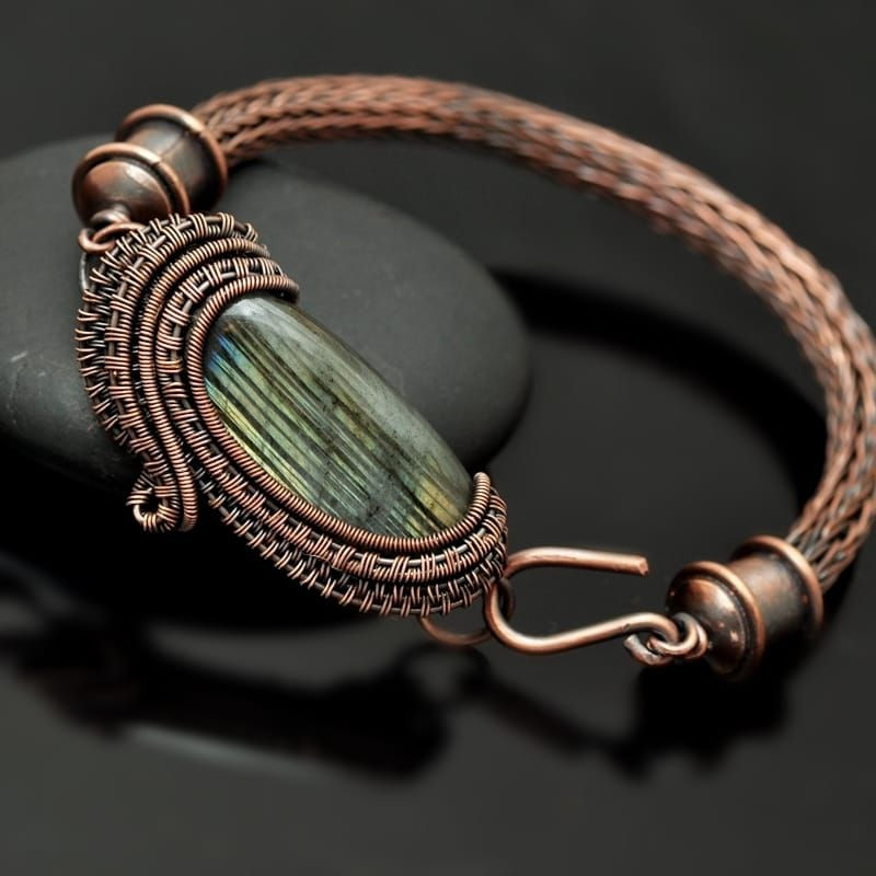 Inspirational Wire Wrap Wire Weaving Wire Wrap Bracelet Wire Wrap Viking Wire Weaving Of Gorgeous 43 Images Viking Wire Weaving