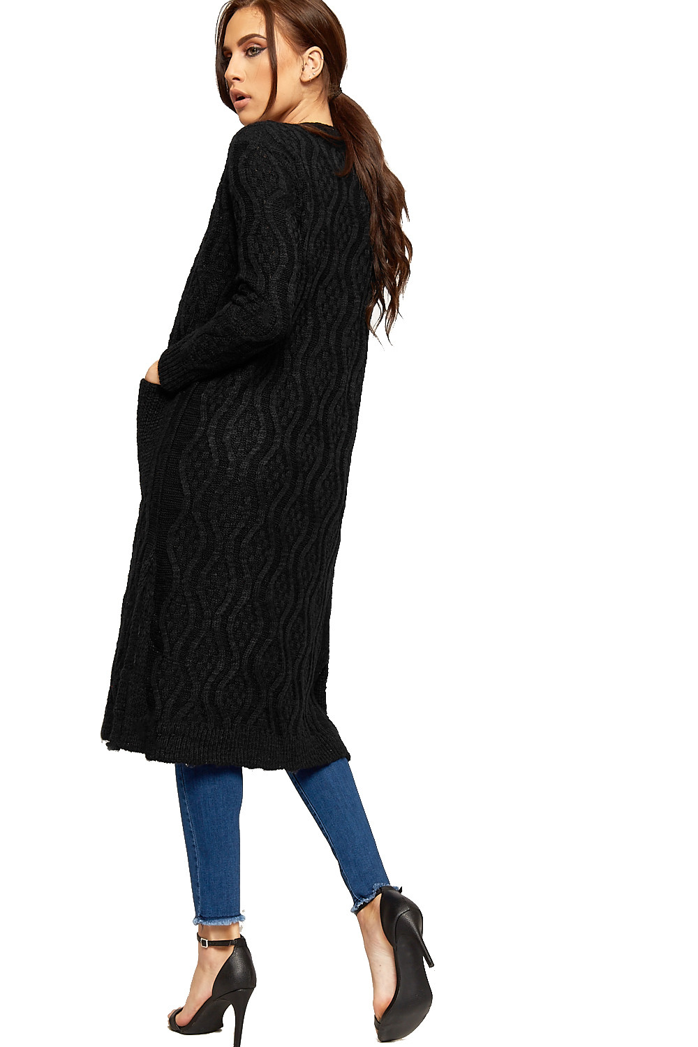 Inspirational Womens Chunky Cable Knit Pocket Long Sleeve La S Slit Womens Chunky Cable Knit Sweater Of Luxury 45 Models Womens Chunky Cable Knit Sweater
