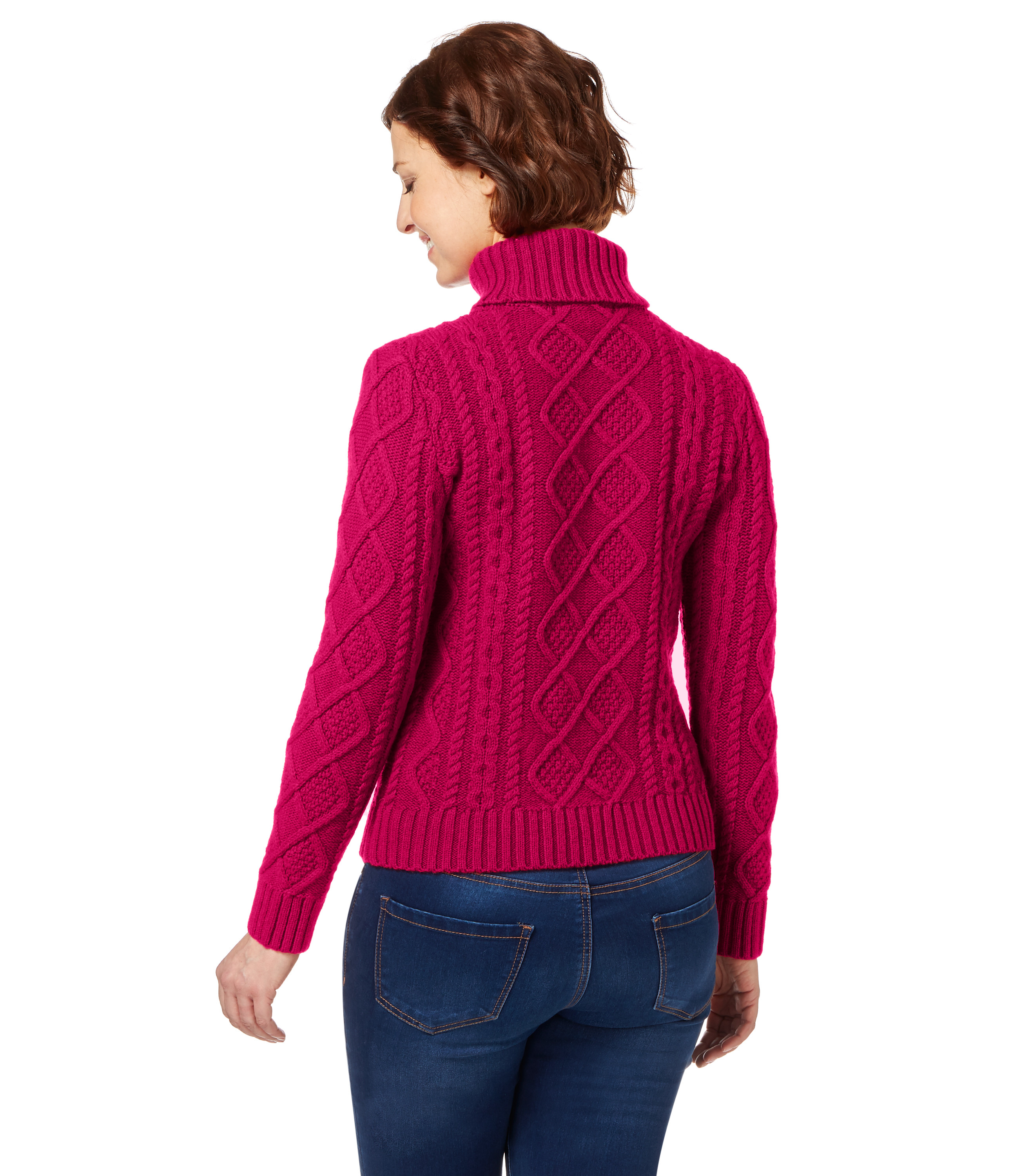 Inspirational Woolovers Womens Lambswool Chunky Cable Polo Neck Long Womens Chunky Cable Knit Sweater Of Luxury 45 Models Womens Chunky Cable Knit Sweater