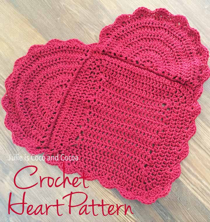 Inspirational You are Loved Crochet Heart Pattern Julie Measures Crochet Heart Pattern Free Of Beautiful 40 Models Crochet Heart Pattern Free