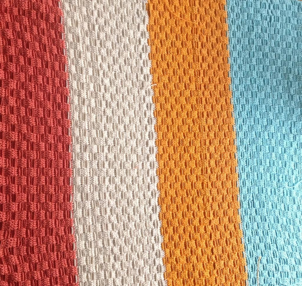 You have to see Basket Weave Blanket by Snow Bunny