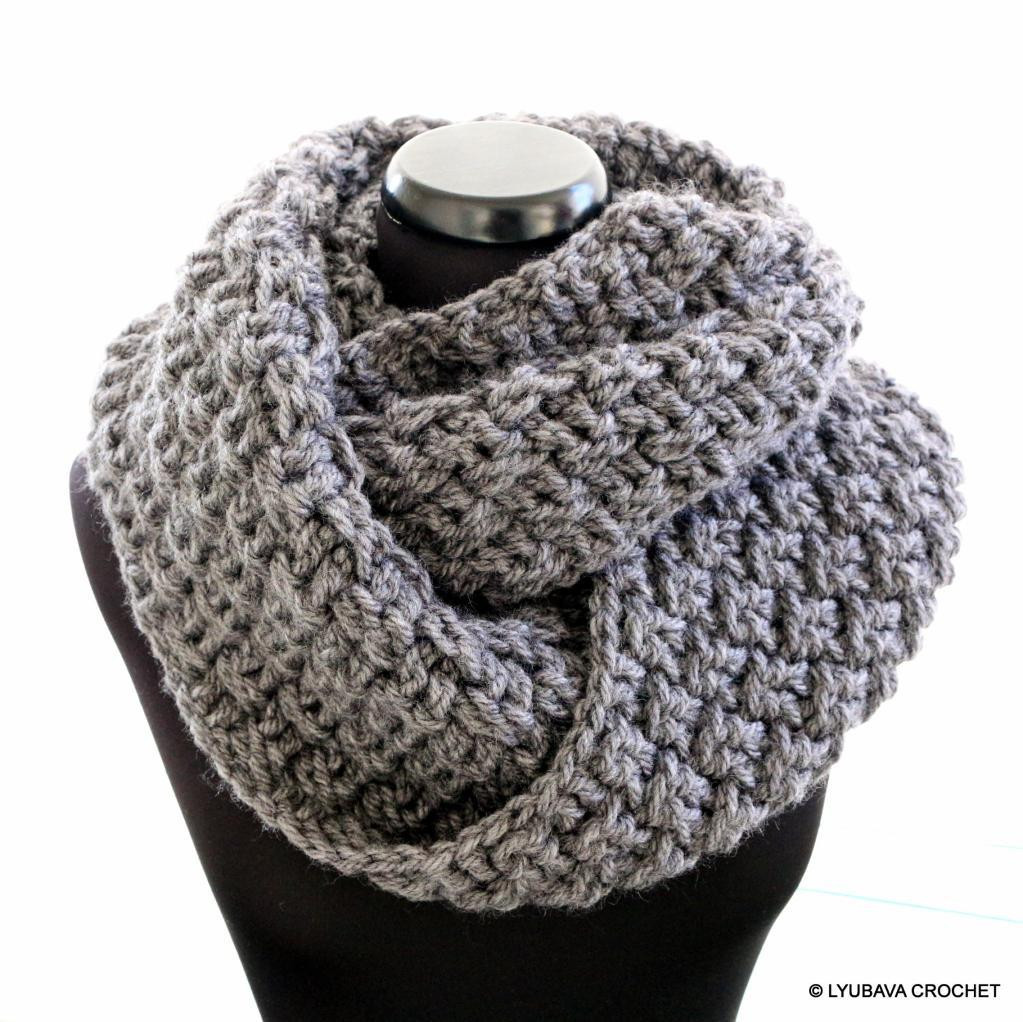 Inspirational You Have to See Chunky Crochet Circle Grey Scarf Uni by Chunky Crochet Scarf Pattern Of Superb 40 Ideas Chunky Crochet Scarf Pattern