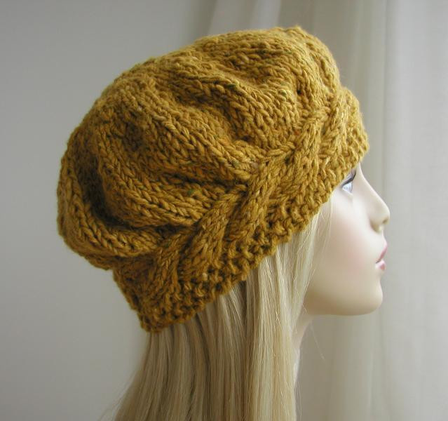 Inspirational You Have to See Weekend Cable Beret Hat Knitting Pattern Knit Beret Of Beautiful 41 Models Knit Beret