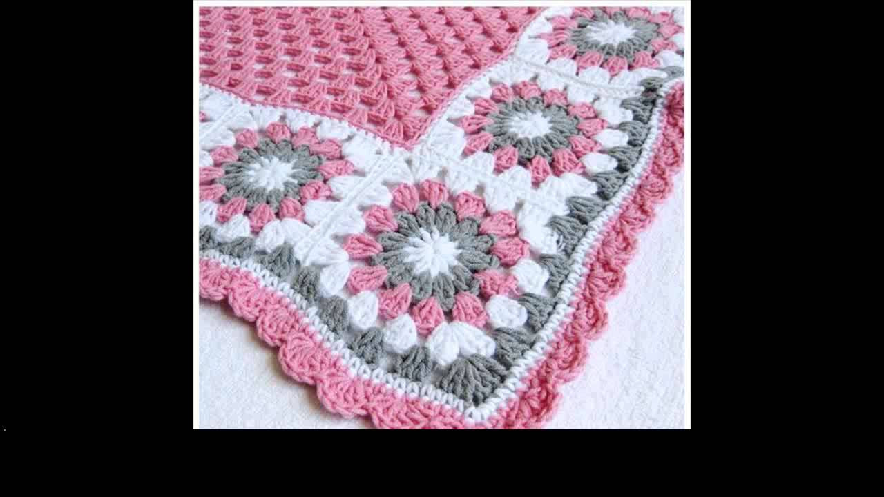 youtube crochet baby blanket