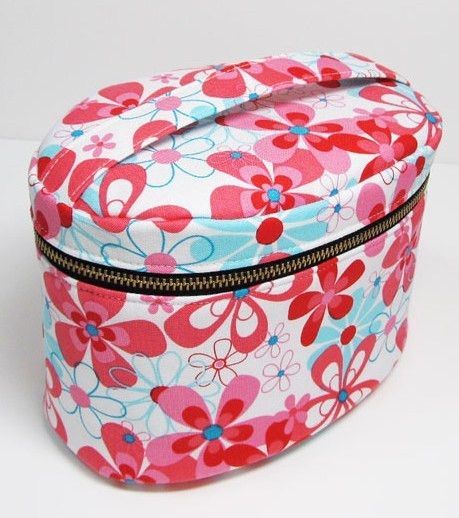 Inspirational Zippered Oval Vanity Bag Sewing Epattern Makeup Bag Pattern Of Wonderful 47 Photos Makeup Bag Pattern