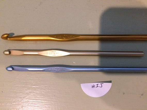 J Crochet Hook Elegant Set Of 3 Crochet Hooks Sizes H I J Of Perfect 47 Pics J Crochet Hook