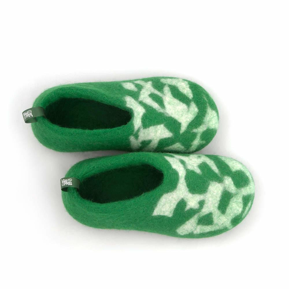 Kids House Shoes Awesome Green Felt Slippers for Men Basic Collection by Wooppers Of Awesome 47 Ideas Kids House Shoes