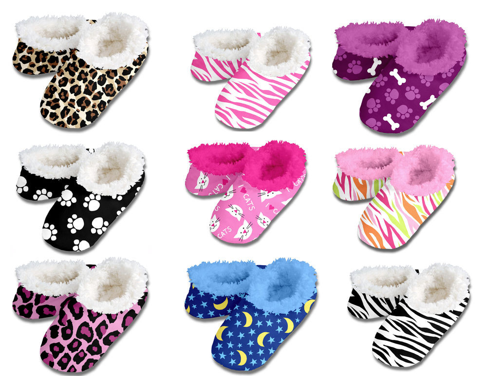 Kids House Shoes Awesome New Snoozies Slippers Kids Teenagers Women Fuzzy House Of Awesome 47 Ideas Kids House Shoes