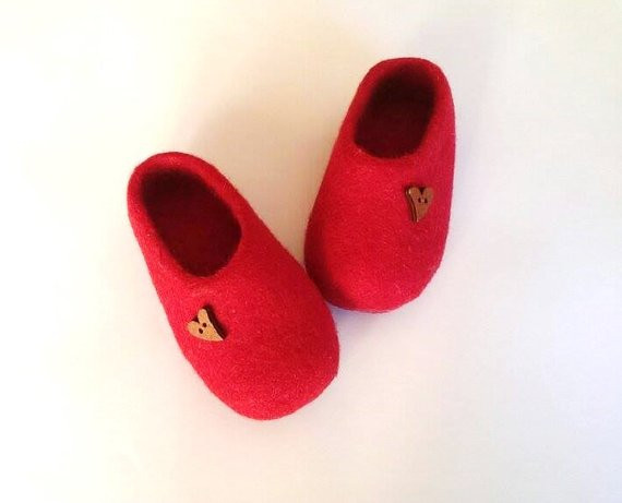 Kids House Shoes Awesome Red Children Wool Slippers Uni Kids Shoes Felted Of Awesome 47 Ideas Kids House Shoes