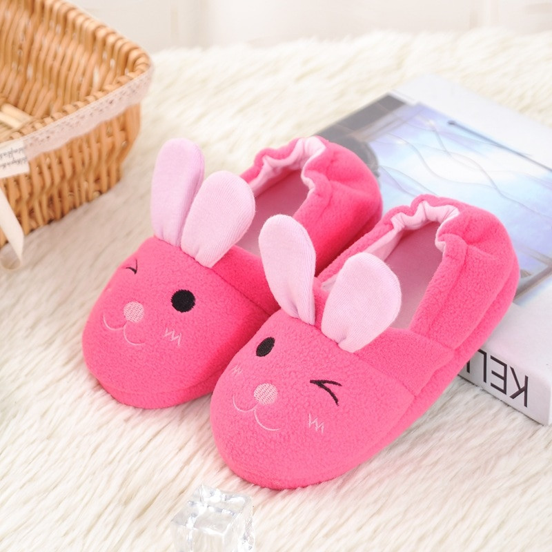 Kids House Shoes Luxury Cute Rabbit Animal Pattern Kids Slippers Home Slippers Of Awesome 47 Ideas Kids House Shoes