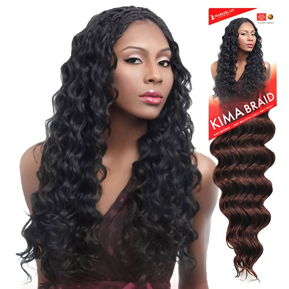 Kima Ocean Wave Crochet Beautiful Amazon Harlem125 Synthetic Hair Braids Kima Braid Of Top 28 Models Kima Ocean Wave Crochet