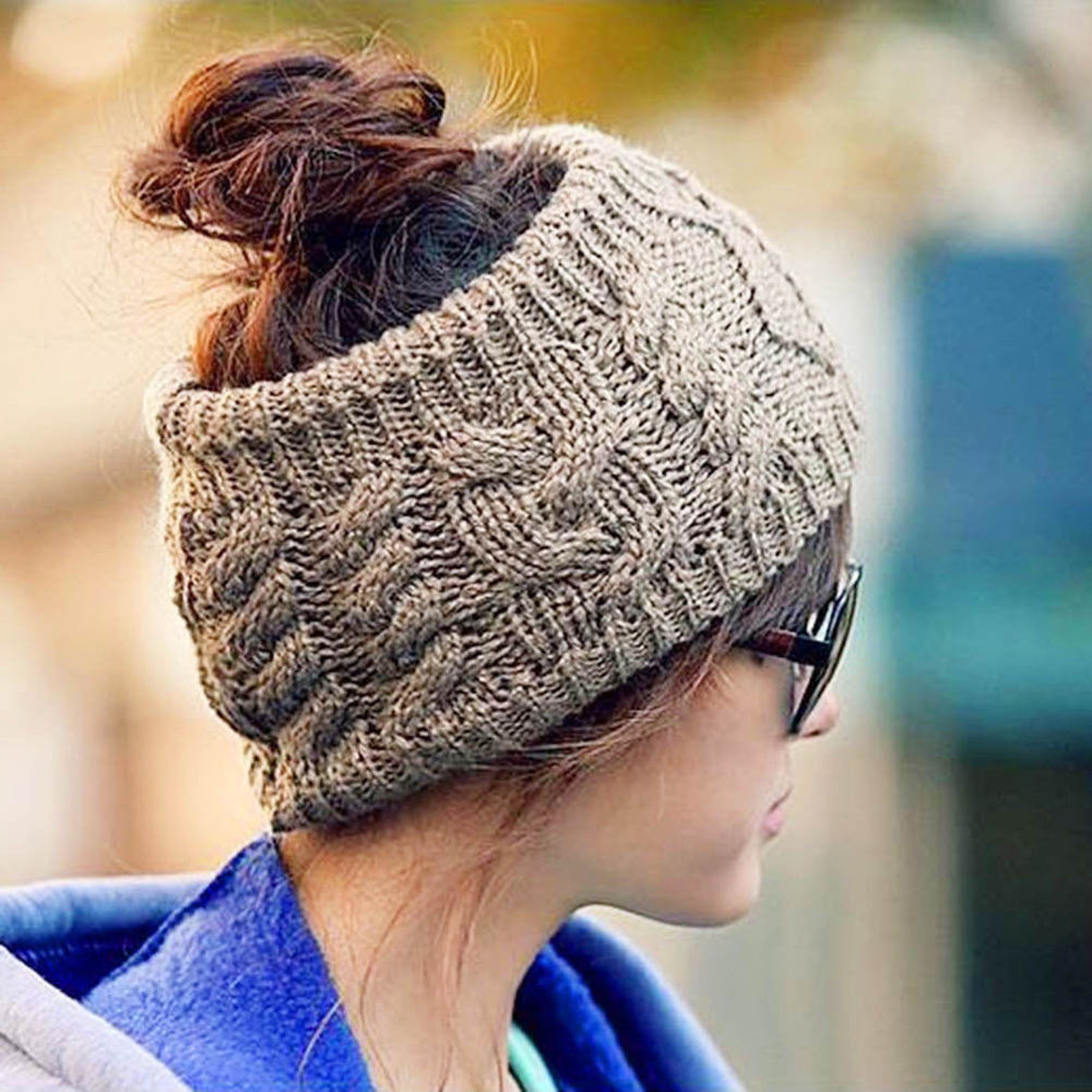 Knit Beanie Awesome New Fashion Women Winter Warm Knit Wool Beret Hat Beanie Of Amazing 50 Models Knit Beanie