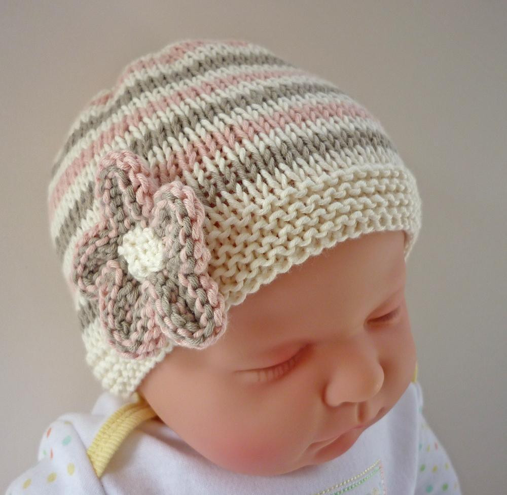 Knit Beanie Lovely Emilie Baby Hat Knitting Pattern by Julie Taylor Of Amazing 50 Models Knit Beanie