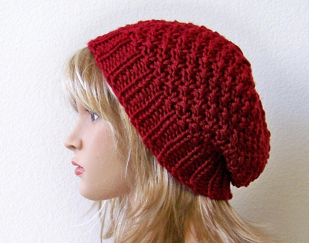 Knit Beanie Lovely Slouchy Beanie Knit Pattern Of Amazing 50 Models Knit Beanie