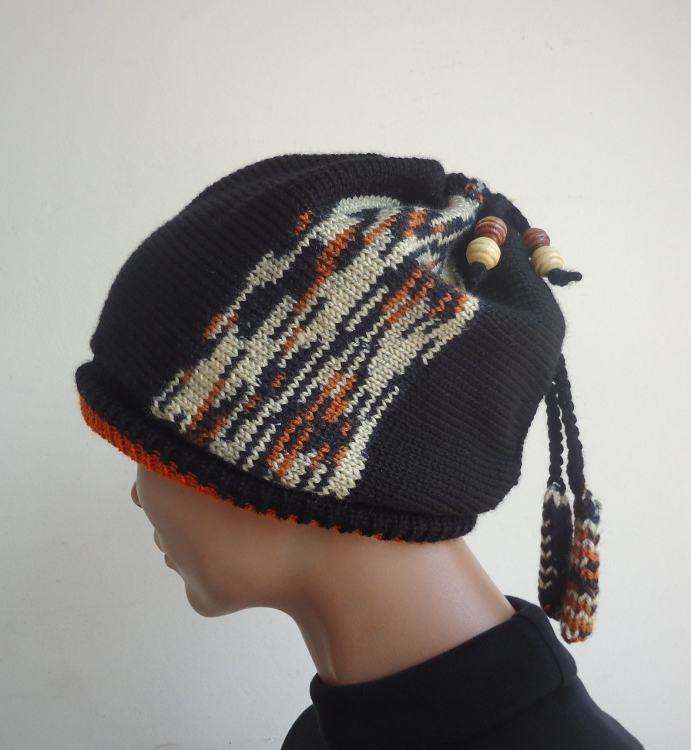 Womens hat winter beanies knit hat knitted beanie Knit