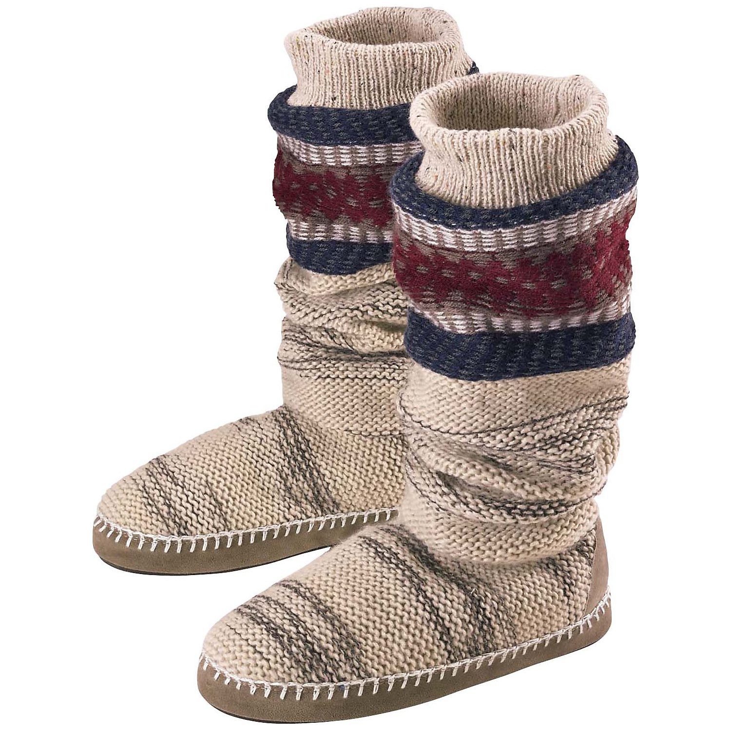 Knit Boots Beautiful Muk Luks Ala Mode Women S Tall Knit Boot Slipper Walmart Of Luxury 48 Photos Knit Boots